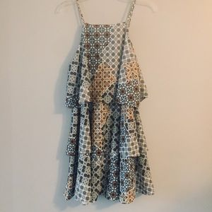 3 for $25 Copper Key tiered dress. Size Medium
